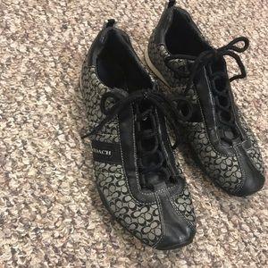 Women's Coach tennis shoes sneakers size 8 1/2m